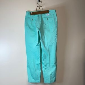 Vineyard vines teal club pants 32 x 30